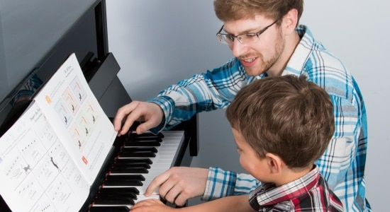 Choose a good music teacher for your child.